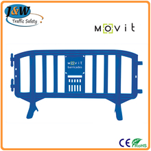 2Meter Colored Plastic Movit Barrier/ Safety Fence With High Reflective Film For Road Construction Site