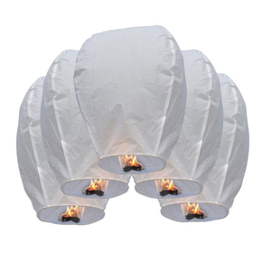 Chinese Biodegradable Paper Flying Sky Lanterns or Kongming Lanterns