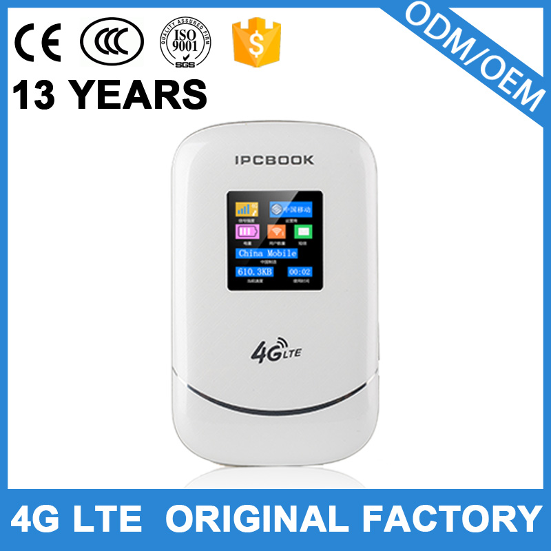Best price 100 Mbps 4g wifi router dual sim card and power bank function