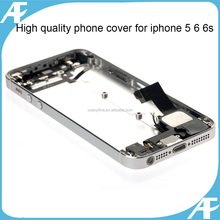 Wholesale Full Housing Assembly For iPhone 5, Rear Frame Back Cover For iPhone5