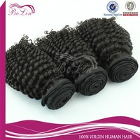 Natural raw indian human hair, Different Types Of Curly Weave Hair