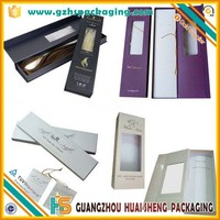 Alibaba Wholesale Custom high quality personalized hair extension packaging boxes