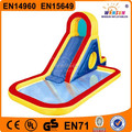 China WINSUN factory price 8m long 4m wide PVC children inflatable pool with slide for Kindergarten
