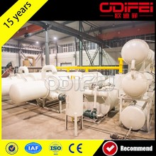 Renewable energy equipment tire pyrolysis oil plant /pyrolysis plant