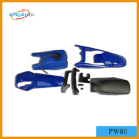 China Wholesale motorcycle plastic body kit scooter for PW80