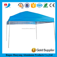 Outdoor advertising custom roof top aluminum folded tent tube
