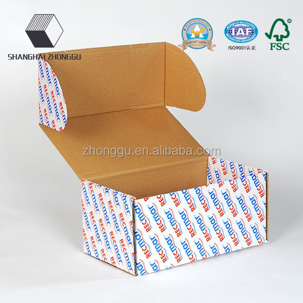 high quality handmade black custom Corrugated Shipping Box with cheapest price