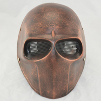 YIWU Caddy MJ-096 High level Fiberglass Resin Halloween party Mask glass steel mask CS Protective mask