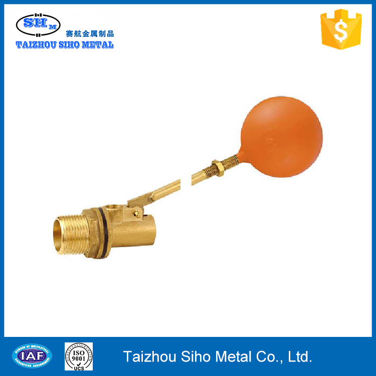 High quatity copper ball float valve hot sell motorized mini brass float valve