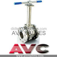 Didtek Cryogenic CAST STEEL,ANSI,API,DIN,JIS,BS ball valve stainless steel