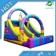 Hot sale!giant inflatable water slide for sale,inflatable zorb ball slide,exciting inflatable water slide