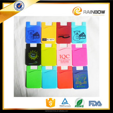 Silicone Back Cell Phone Silicone Cases / Phone Pouch