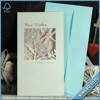 Custom design paper quilling birthday cards