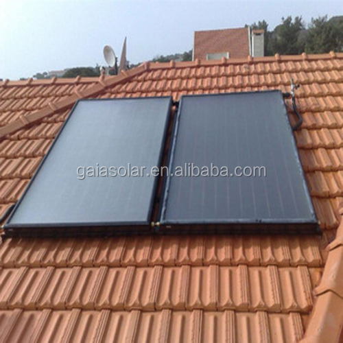 split pressurized flat plate solar water heater solar thermal collectors