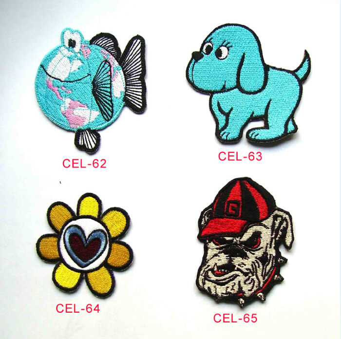Personalized diverse embroidery badge patches for cloth