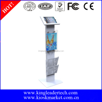 Anti-Theft iPad/Tablet kiosk public display stand for advertising