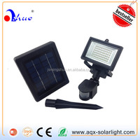 Solar security light, motion detect