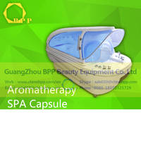 steam led spa massage capsule french shower
