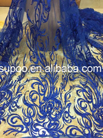 African Tulle Lace Fabric in 2015 Hot Fashion Design TL0001