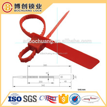 customs seal plastic standard iso17712 seal FLAT TAIL