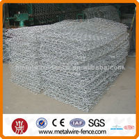 Galvanized gabion baskets