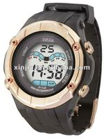 brand new LCD waterproof cold light sport watch