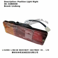 Liugong wheel loader part 32B0038 Position Light Right