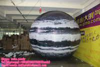 Hot sale inflatable nine planets for decoration, inflatable saturn C-108