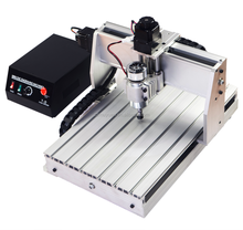 Mini 3 Axis CNC 3040 CNC engraving machine for woodworking, jade, metal engraving