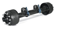 High quality 9.5-12 Ton capacity trailer axle (brake drum)