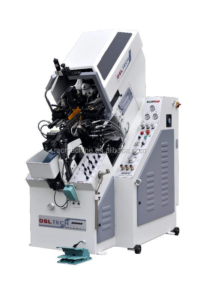 DSL-TECH D-587C 9-Pincer Automatic Hydraulic Toe Lasting Machine / Shoe-making Machine