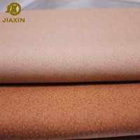 High Quality Soft Printing Flower Nonwoven Synthetic PU Leather For Shoe Lining