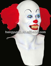 Fashion Fancy Dress Cosplay Pennywise Clown Costume Halloween Party Mask