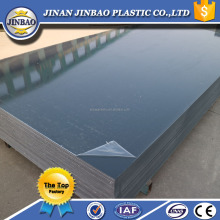 high quality cheap surface hardness 4x8 rigid pvc plastic sheet material