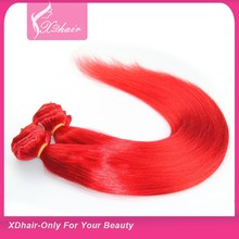 2015 Most Popular New Products Rosa Red Cheap Remy Clip In Virgin Brazilian Hair Extension 120g 220 Gram