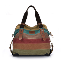 New style high quality breathable comfort fashion promotional women cheap canvas handbag