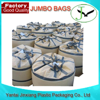wholesale pp woven big jumbo ton container bulk bag, big size bag available