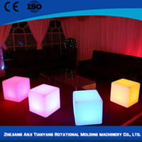 plastic modern wedding decoration bar round table and bar chairs in bar