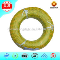 IEC Heating Resisting fiberglass braid Silicone Rubber Insulation Electric Wire and Cable