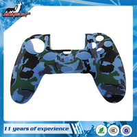 Factory Price Camouflage Color Controller Silicone Case for PS4 Console