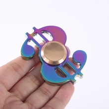 EDC Ultra Durable High Speed Metal Spinner toy Bearing 9 Min Spin time finger spinner for sale