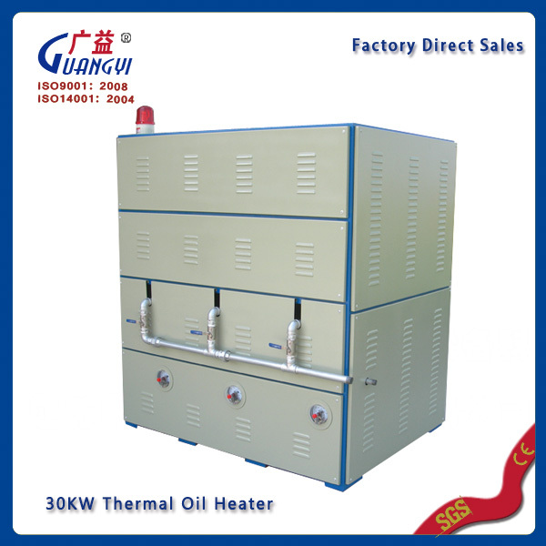 Portable Italian wood waste electric thermal oil heaters