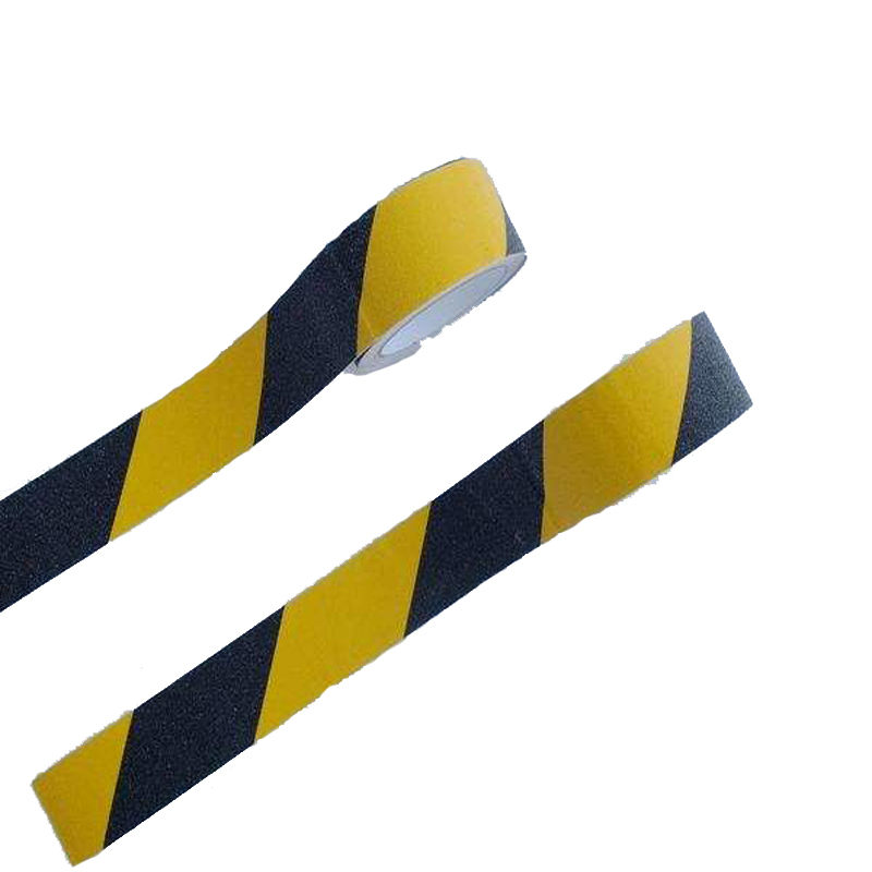 Esd friction resistant floor marking tape for road