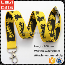 wholesale design custom jacquard lanyards