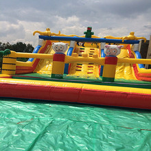 Gmich cheap kids PVC inflatable jumping bounce castle