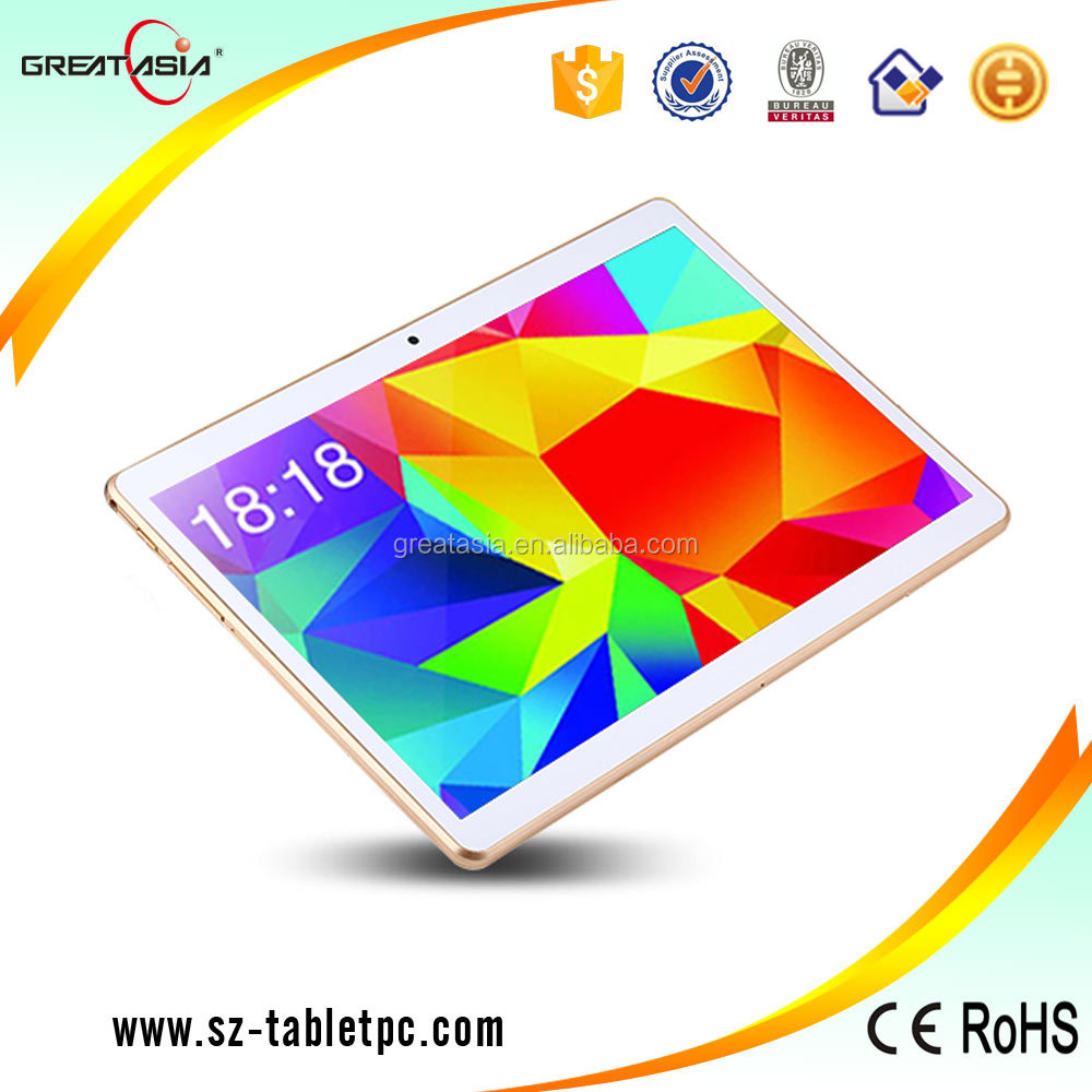 "2016 Newest 10"" pc tablet Android 5.1 MTK6582 10 inch android tablet 3g smart phone"