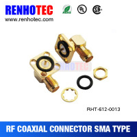 sma right angle connector rf switch connector for rg174 cable