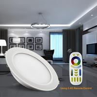 Mi.light wifi led bulb slim ceiling recessed light 150mm cut hole 2016 newest rgb wifi led downlight