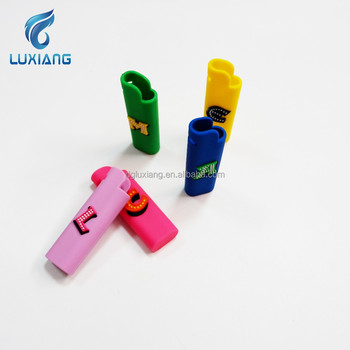 2018 China suppler wholesale silicone lighter cover promotional silicone lighter case , silicone lighter sleeve