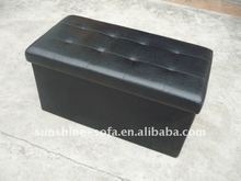 Folding Ottoman With Store